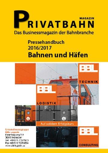Pressehandbuch Bahnen&Häfen
