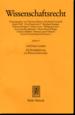 Wissenschaftsrecht (WissR)