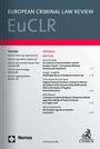 European Criminal Law Review (EuCLR)