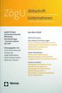 Zeitschrift für öffentliche und gemeinwirtschaftliche Unternehmen