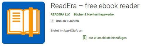 der Ebook Reader für Androidsysteme