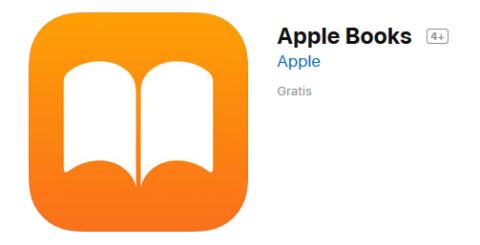 der Apple-eigene eBooks Reader ist vorinstalliert