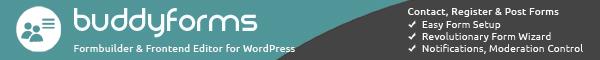 a flexible and lightweight formbuilder plugin set for wordpress